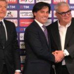 Le parole di Corvino durante la conferenza stampa di Montella