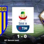Parma-Fiorentina 1-0 (Finale): ultima giornata decisiva per evitare la B.