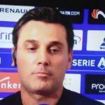 """Montella a Sky: """"Ribery mi ha dato suggerimenti in tribuna"""""""