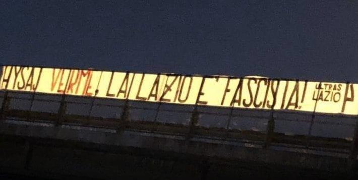 """""""Verme, la Lazio è fascista"""""""